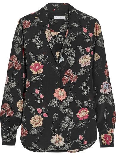 Black silk shirt Equipment Cheap Shop For SzypU9l