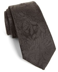 Paul Smith Tonal Floral Silk Tie