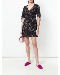 Essentiel Antwerp Floral Short Sleeved Dress
