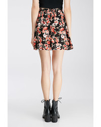 ... Forever 21 Button Front Floral Mini Skirt ... 00a46921a