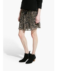 Mango Outlet Mango Outlet Floral Chiffon Skirt