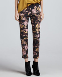 Elizabeth and James Lohmann Floral Print Pants