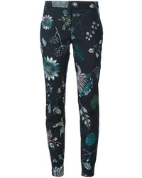 Versus floral print trousers medium 397174