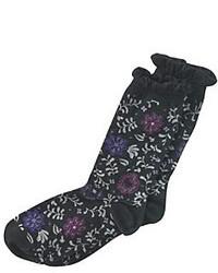 Hue Floral Femme Top Socks