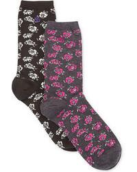 Lauren Ralph Lauren Ralph Lauren Louvre Floral Trouser Socks