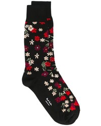 Paul Smith Floral Pattern Socks