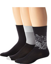 Hue Ultrasmooth Sock 3 Pack