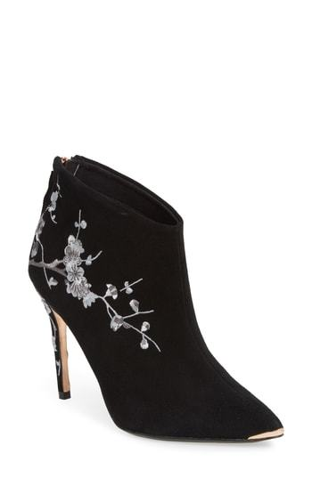 dbbcdaa439e $249, Ted Baker London Novelty Embroidered Bootie