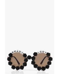 Boohoo Charli Floral Shady Lady Sunglasses