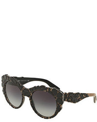 Dolce & Gabbana 53mm Round Sunglasses