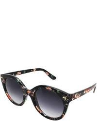Fantas Eyes Isla Verde Floral Round Sunglasses