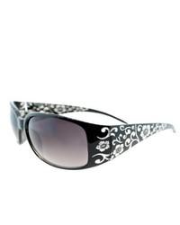 Fantaseyes Grapevine Black Floral Sunglasses