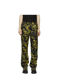 McQ Alexander McQueen Black Printed Track Pants