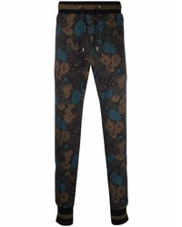 Paul Smith Drawstring Floral Tracksuit Bottoms