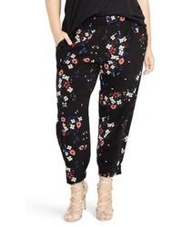 Rachel floral jogger pants medium 5264771