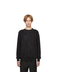 Paul Smith Black Embroidered Sweatshirt