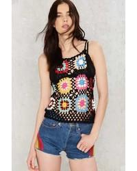 Factory Crochet It Aint So Floral Tank