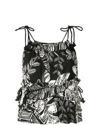 See by Chloe See By Chlo Floral Print Vest