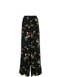 Antonio Marras Floral Wide Leg Trousers