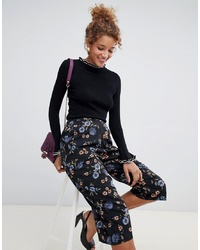 Influence Floral Wide Leg Trousers