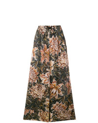 Y-3 Flower Flared Trousers