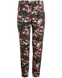 Givenchy Floral Printed Cotton Trousers