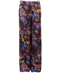 Maison Margiela Floral Print Trousers