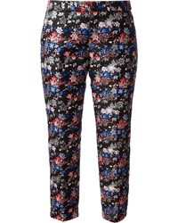 MSGM Floral Cropped Trouser