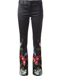 Roberto Cavalli Flared Floral Trouser