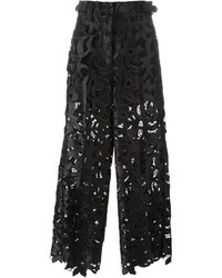 Sacai Floral Lace Trousers