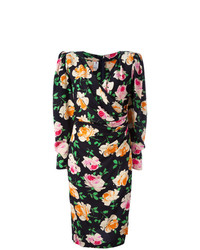 Emanuel Ungaro Vintage Flower Print Dress