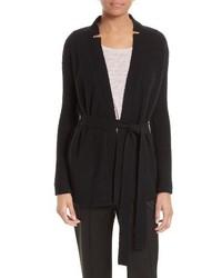Wool blend belted cardigan medium 3686247
