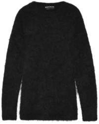 Angora blend sweater medium 120602