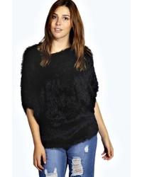 Boohoo Olivia Fluffy Knit Oversized Jumper