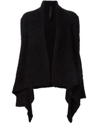 Fluffy draped cardigan medium 351273