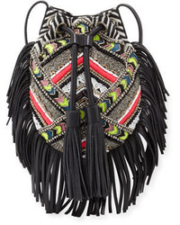 Rebecca Minkoff Wonder Beaded Fringe Crossbody Bag