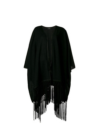Saint Laurent Fringed Cape