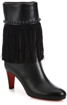 0ee901110c07 ... Boots Christian Louboutin Tudor Joplin Studded Fringe Booties ...