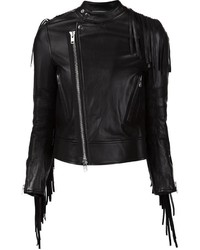 Sacai Luck Fringed Biker Jacket
