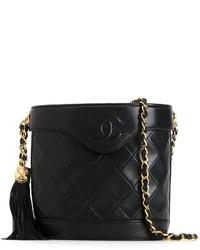 Chanel Vintage Fringe Bucket Chain Bag