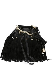 Diane von Furstenberg Boho Disco Bucket Crossbody Bag
