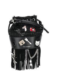 Karl Lagerfeld Kklassik Pins Mini Bag