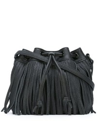 Rebecca Minkoff Fringed Bucket Crossbody Bag