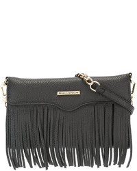 Rebecca Minkoff Fringed Trim Clutch Bag