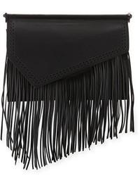 Ginza fringe leather clutch bag medium 3942717