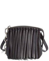 Alexander Wang Attica Fringe Crossbody Bag Black