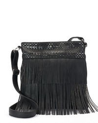 Candies Candies Fringe Oversized Crossbody Bag