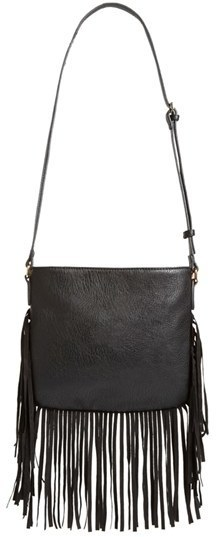 Street Level Fringe Crossbody Bag 44
