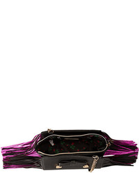 Betsey Johnson Fringe Party Crossbody