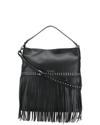 Twin-Set Fringed Hobo Bag